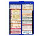 WhiteCoat Clipboard - Vertical - Blue - Pediatric Edition