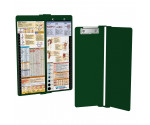 WhiteCoat Clipboard - Vertical - Green - Nursing Edition