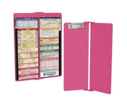 WhiteCoat Clipboard - Vertical - Pink - Pediatric Edition