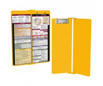 WhiteCoat Clipboard - Vertical - Yellow - Medical Edition