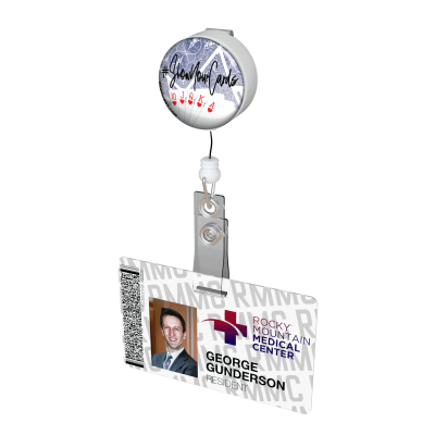 Show your Cards Button Badge Reel