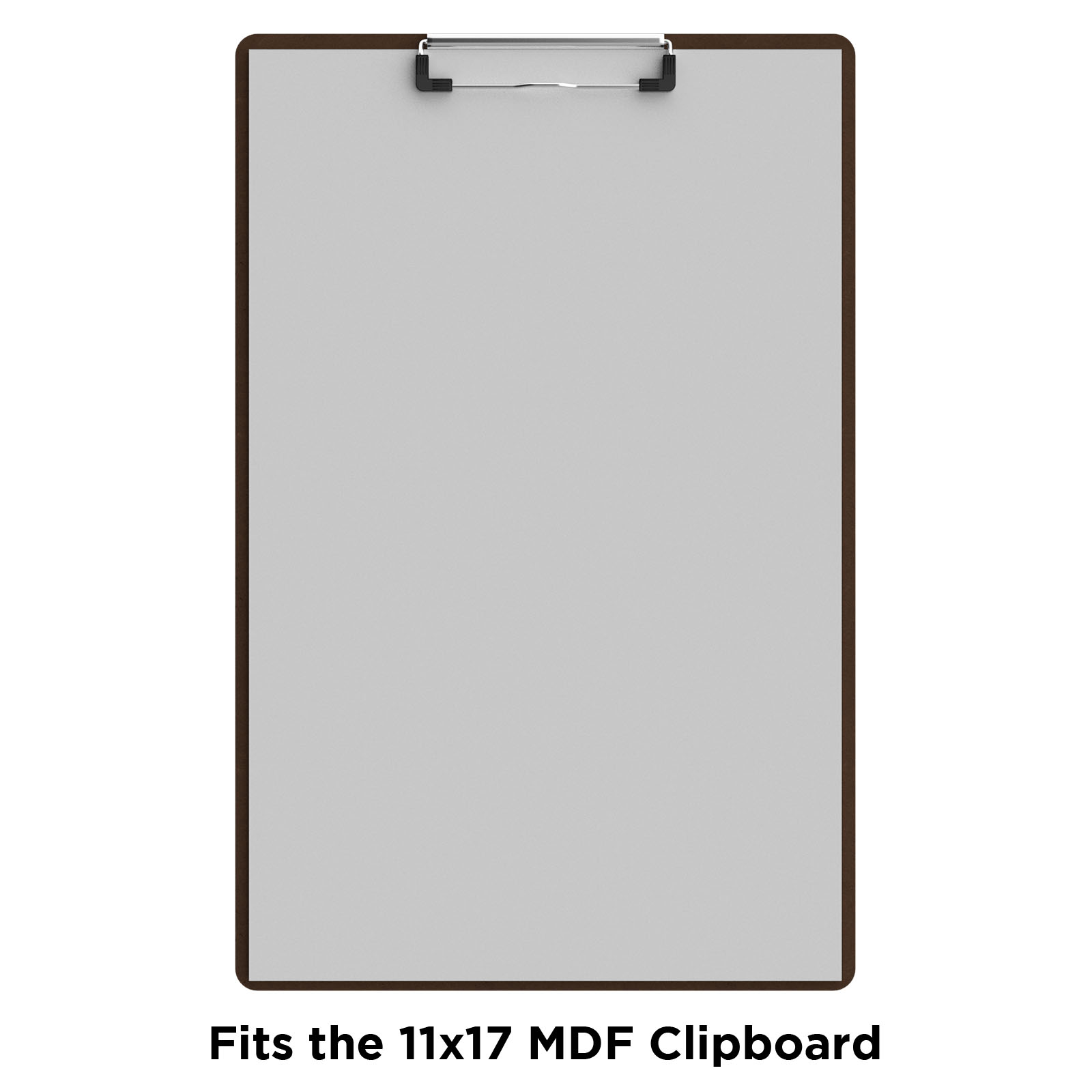 Vertical 17 X 11 Mdf Clipboard Notepad Blank