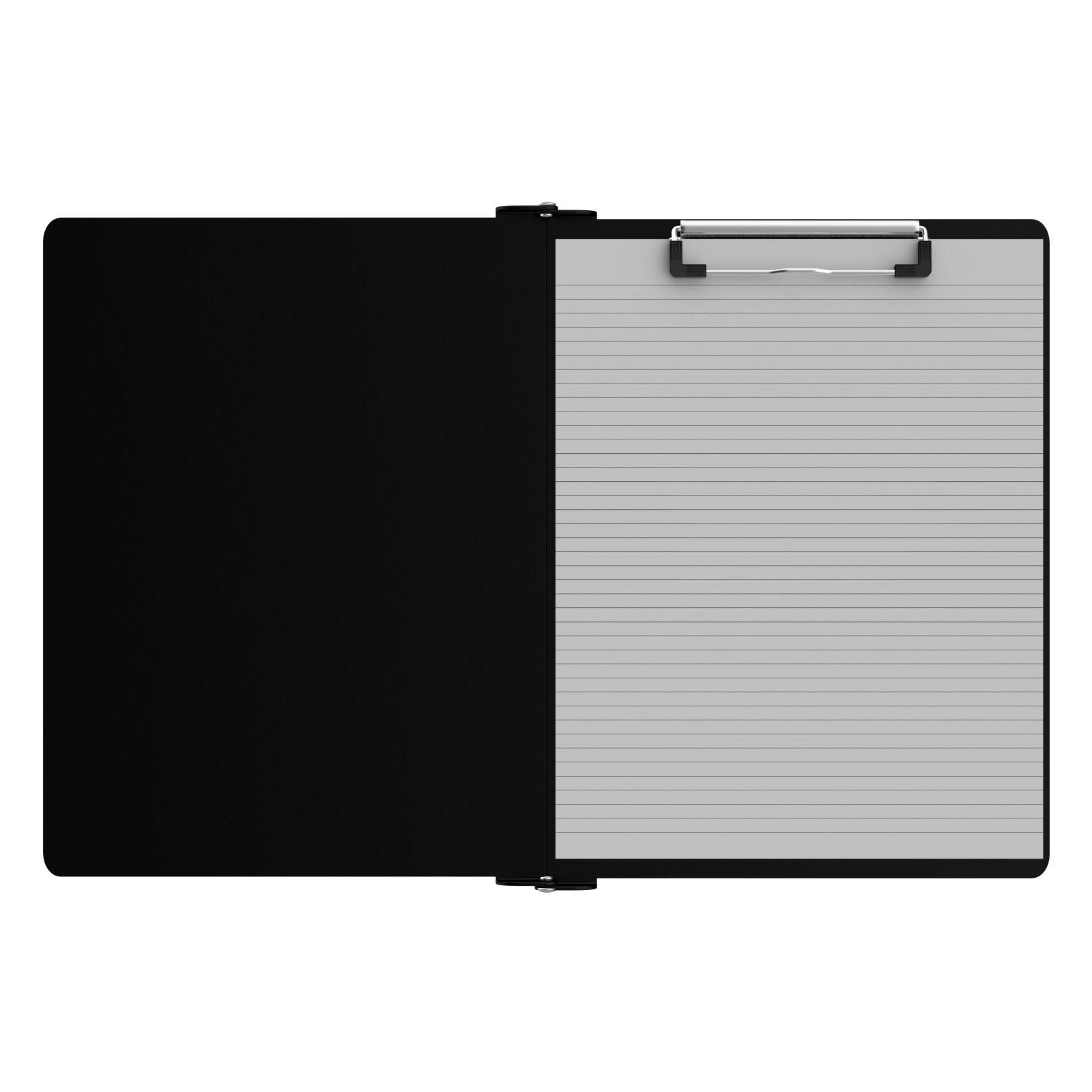 Ledger Plate Rivets : Right folding ledger iso clipboard black