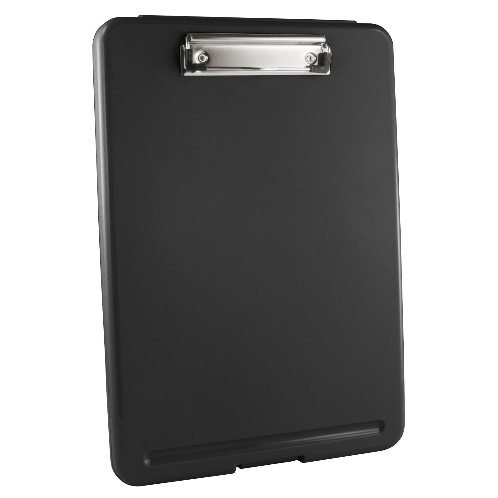 Plastic Black Storage Clipboard