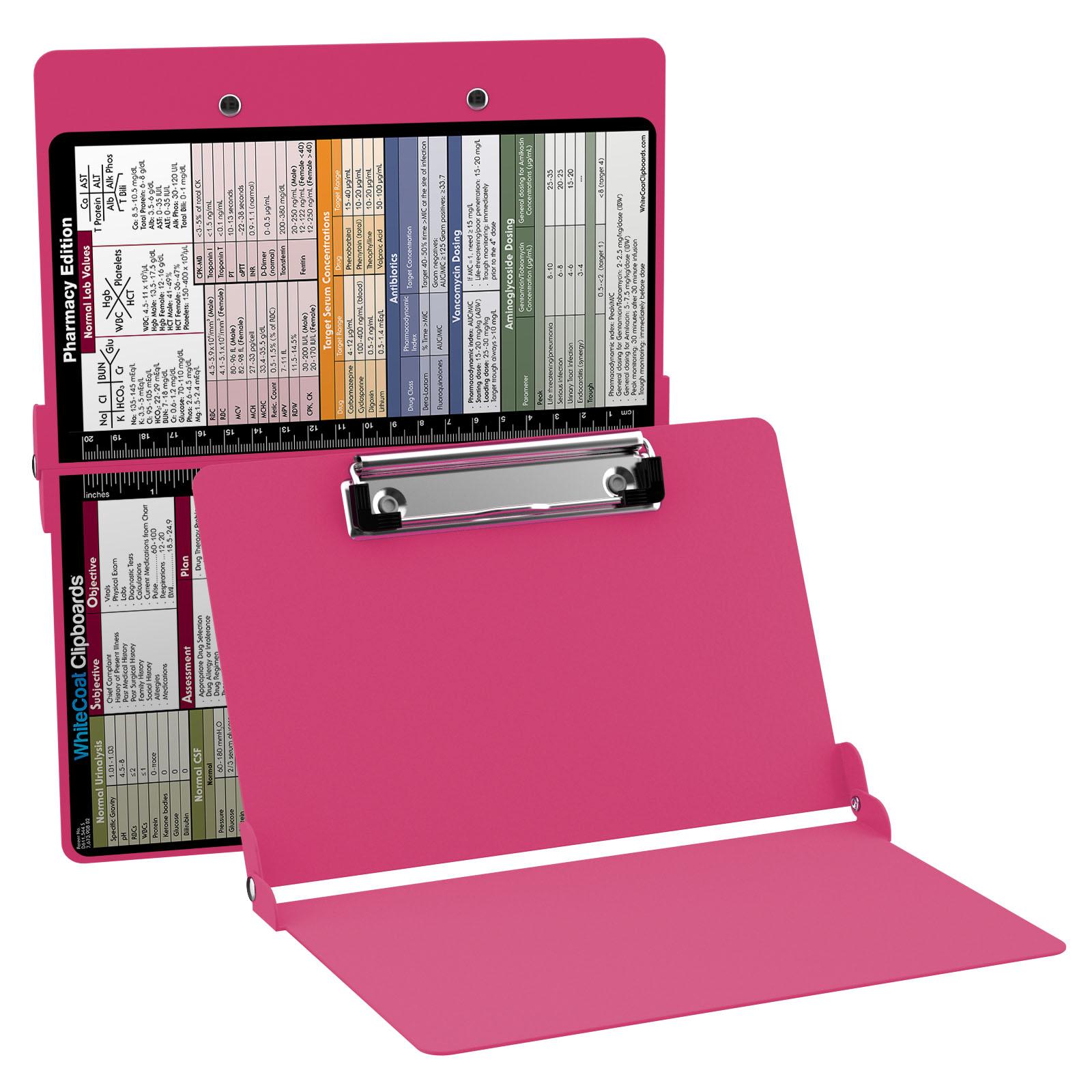 Whitecoat clipboard pink pharmacy edition